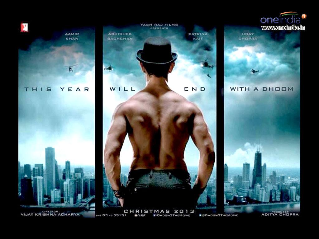 dhoom 3 theatrical trailer aamir khan   abhishek bachchan   katrina