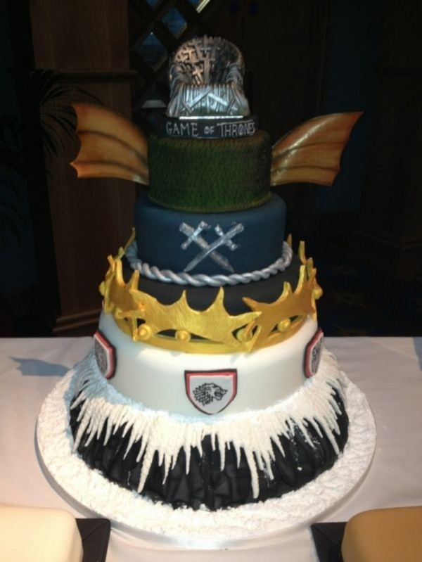 Incredible Quot Game Of Thrones Cakes Quot Made For Wrap Party